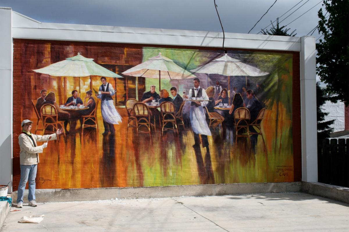 Cafe Scene - 238 S. Third Avenue