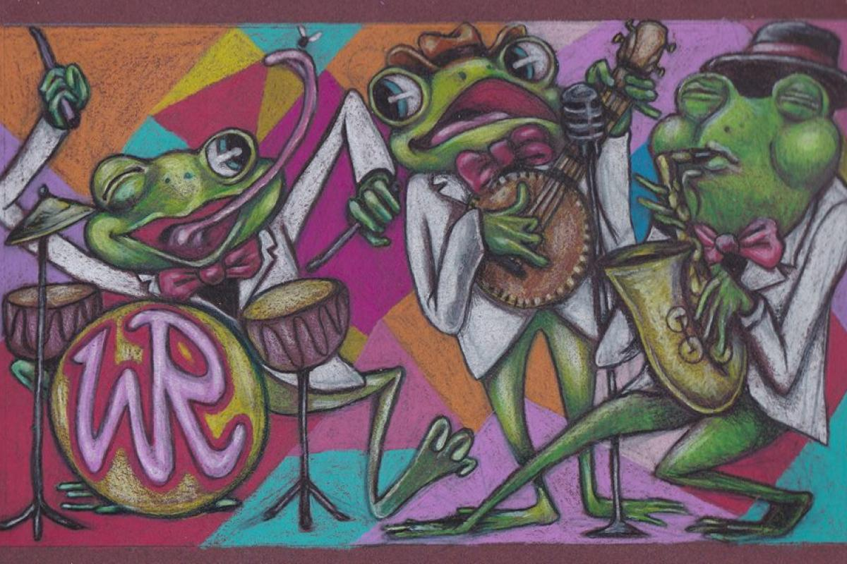Funky Frog Trio - 546 Cherry Street