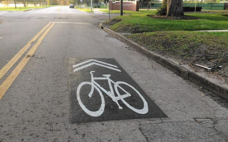 Bike Sharrow